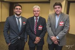 Allan Vitor, Edson Araújo e Raul Santos