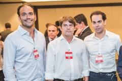 Deda Studart, Luiz Carlos e Cláudio Vale