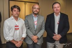 Luiz Carlos, Adriano Fiúza e Clementino Fraga