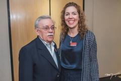 Raimundo Padinha e Ticiana Rolim Queiroz