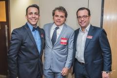 Raul Amaral, Ivan Bezerra e Ivo Machado