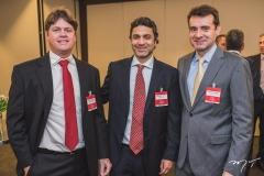 Rômulo Gomes, Bernardo Veloso e Fernando Gurgel