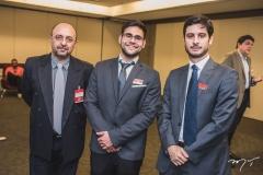Washington Freitas, Allan Vitor e Renato Dias