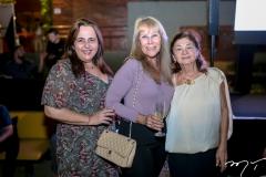 Claudia Castelo Branco, Liduina Melo e Alcy Ponce