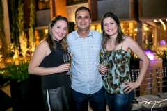 Erika Paiva, Dideron Costa e Sabrina Pinheiro