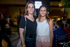 Karine Albuquerque e Andrea Verçosa