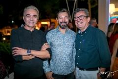 Marcos Monteiro, Carlos Otavio e Jorge Lotif