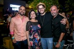 Vlado Figueiredo, Neuma Figueiredo,Cadeh Juaçaba e Marcos Novais