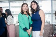 Celina Castro Alves e Milena Auip
