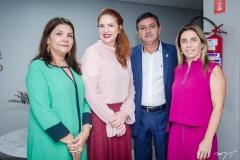 Celina Castro Alves, Enid Câmara, Rômulo Veras e Suemy Vasconcelos