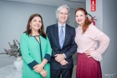 Celina Castro Alves, Marcos Pompeu e Enid Câmara