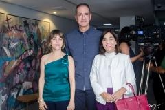 Circe Jane, Regis Medeiros e Ana Luiza Caracas