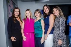 Ivana Bezerra Rangel, Suemy Vasconcelos, Circe Jane, Milena Auip e Danielle Coimbra