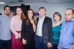 Nicolino Trompieri, Enid Câmara, Ivana Bezerra Rangel, Maurício Filizola, Circe Jane e Estevam Oliveira