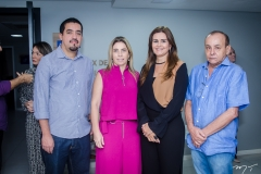 Nicolino Trompieri, Suemy Vasconcelos, Ivana Bezerra Rangel e Estevam Oliveira