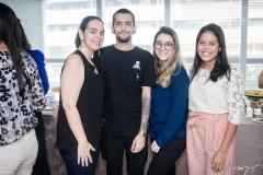 Priscila Freitas, Ricardo Barbosa, Izabele Sampaio e Micaela Viana