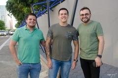 Diego Studart, Afonso Tumora e Ramiro Mendes