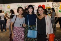 Jamile Wayne, Carolina Figueiredo e Eliana Alcantara