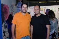 João Albuquerque e Otílio Ferreira