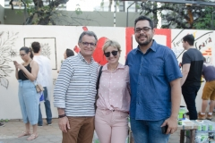 João Almeida, Ana Ramalho e Leonardo Freire