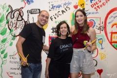 Josafá Neto, Neuma Figueiredo e Zaira Mendes