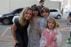 Lucila, Sophia, Davi e João Mendonça