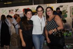 Renata Lima, Nereide Figueiredo e Maria de Jesus Brito