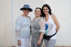Zilça Santiago, Lidia Militão e Daniele Araújo