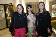 Ana Lurdes Almeida, Carmen Cinira e Jória Araripe