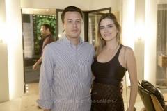 Breno Viana e Gisela Frank