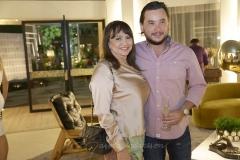 Carmen Cinira e Thiago Falcão