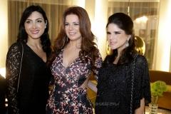 Daniele Linheiro, Claudia Quental e Marilia Vasconcelos