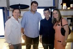 Ildelfonso e Rafael Rodrigues , Erick e Raquel Vasconcelos