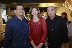 José e Ivana Gomes, Silvio Frota