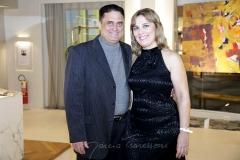 Norberto Farias e Tricia Brasil