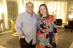 Philomeno Junior e Nicole Barbosa