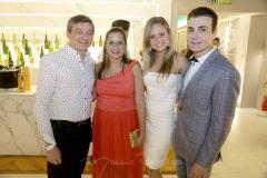 Racine Mourão, Mariana Landim, Ana Virginia Furlane e Rodrigo Maia