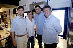 Rui do Ceará , Ildelfonso e Rafael Rodrigues e Evandro Colares