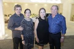 Totonio e Elusa Laprovitera , Cristina e Chiquinho Aragão