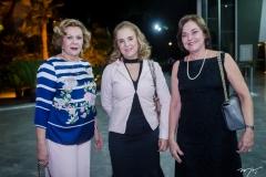 Auxiliadora Paes Mendonça, Solange Palhano e Ana-Studart.