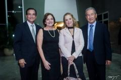 Beto Studart, Ana Studart, Solange Palhano e Wandocyr Edy Mori Romero.
