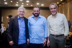 Paulo César Norões, Patriolino Dias e Paulo Angelim