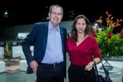 Ricardo Parente e Maura Maia