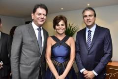 Cid Gomes, Patricia Aguiar e Camilo Santana