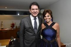 Cid Gomes e Patricia Aguiar