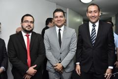 Felipe Pontes, Élcio Feitosa e Renan Colares