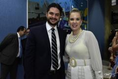 Guilherme Landim e Mariana Lobo