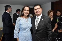 Izolda Cela e Mauro Benevides Filho