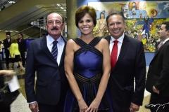 Marcelo Machado, Patricia Aguiar e Domingos Filho