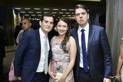 Pedro Duarte, Bruna Cardoso e Fábio Duarte